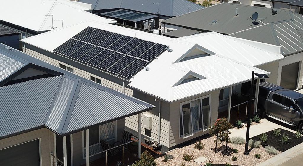 Newcastle solar panel installation