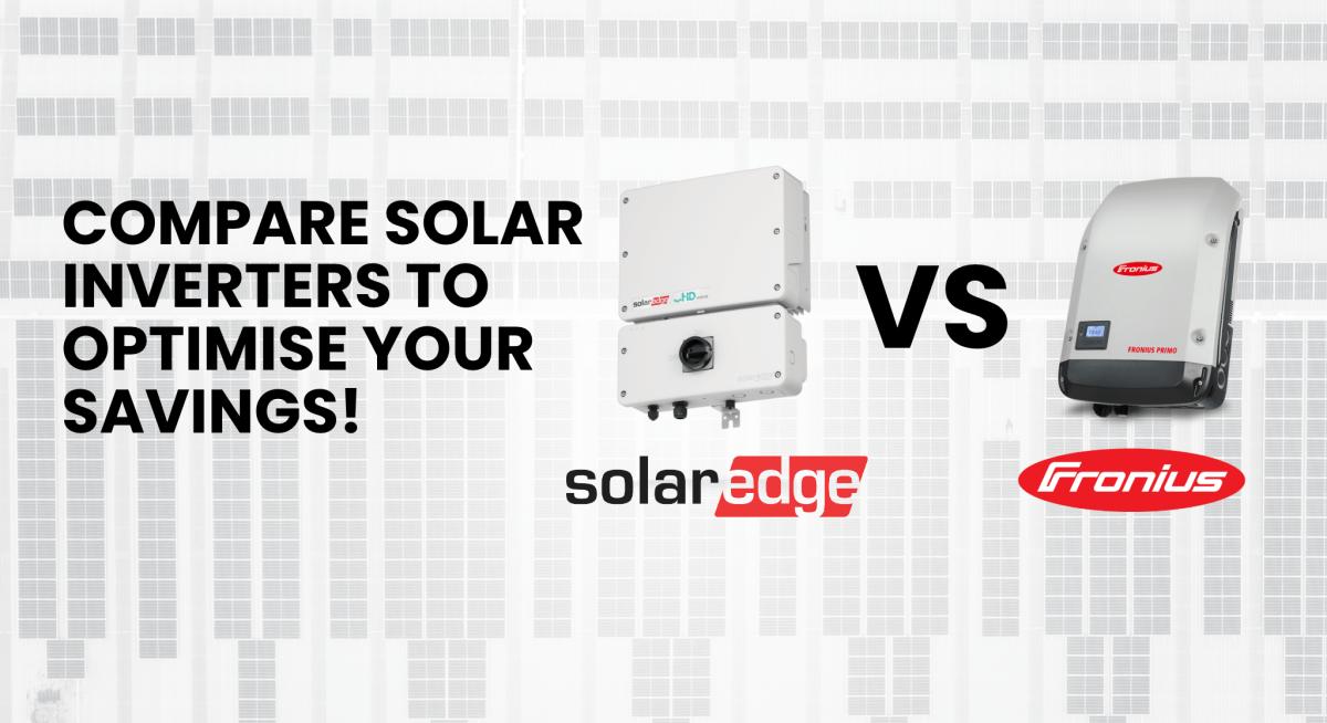 SolarEdge VS Fronius Solar Inverter