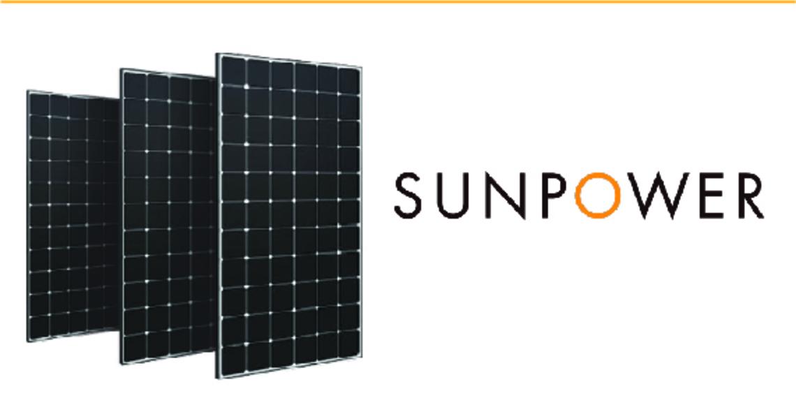 Sunpower panels