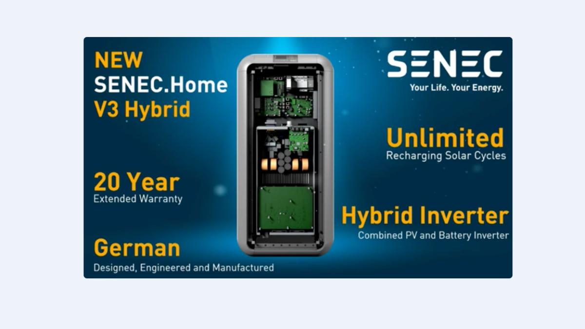 Senec solar Battery storage